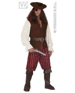 Costume Pirata Xl Con Accessori