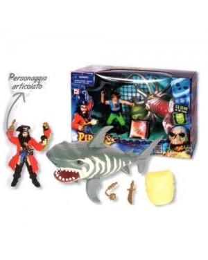 giocheria hdg30217 pirati - confezione monster attack personaggio e m