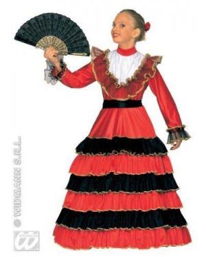 Costume Spagnola Senorita 8/10 Cm 140