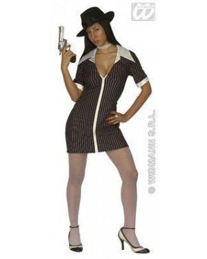Costume Gangster Donna Girl M