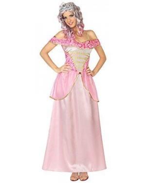 ATOSA 29014 costume principessa rosa adulto t2 m\l