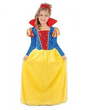 Costume Biancaneve 6-8 Anni