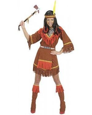 WIDMANN 71813 costume indiana l vestito-grembiule coprist