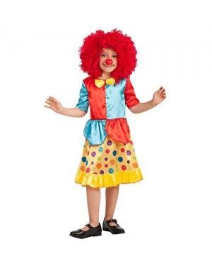 CARNIVAL TOYS 66005 costume clown bambina vi-vii