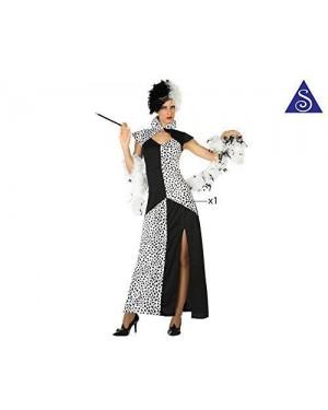 Costume Crudelia Donna T-1 Xs-S