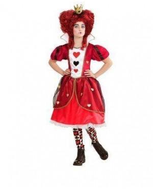 WIDMANN 06158 costume regina di cuori 11/13 158cm