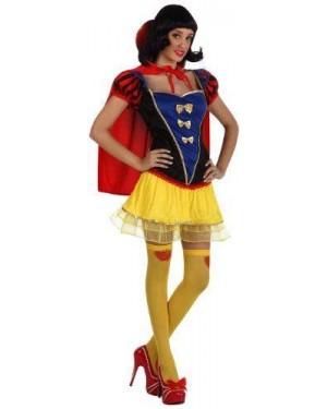 Costume Ragazza Della Neve Sexy T-1