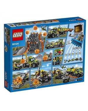 LEGO 60124 lego city volcano explorers base delle esplorazion