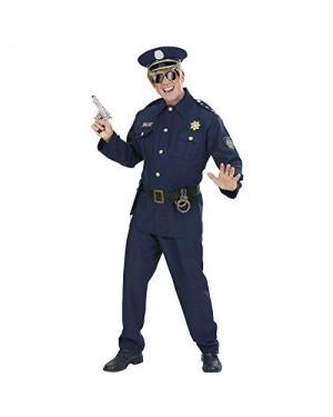 WIDMANN 73211 costume poliziotto s casacca,pantaloni,cintura,