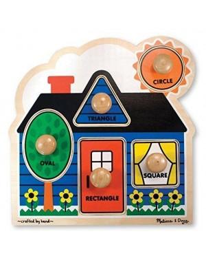 MELISSA E DOUG 12053 primo formato grande peg puzzle