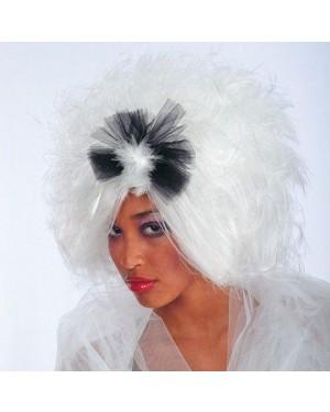 CARNIVAL TOYS 02390 parrucca kloe con fiocco bianca in valigetta