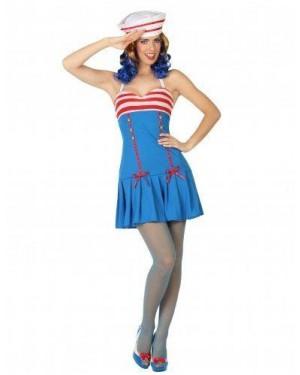 ATOSA 26377 costume marinaia adulto t1 xs\s