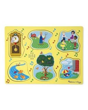 MELISSA E DOUG 10735 melissa puzzle sonoro c/filastrocche 1