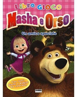 FABBRI  libro gioco masha e orso un amico speciale