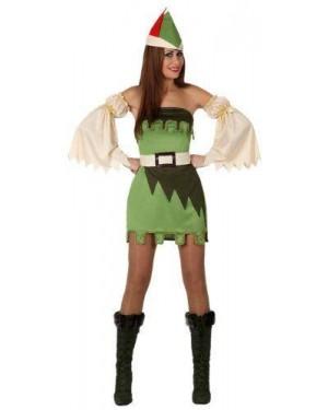 Costume Ragazza Foresta, Adulto T-1