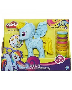 hasbro b0011eu40 playdoh my little pony ultimate rainbow dash