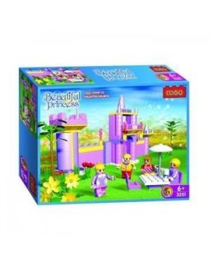 COGO 3251 castello rosa costruzioni 252 pz fy 206284