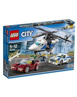 LEGO 60138 lego city polizia inseguimento alta velocita