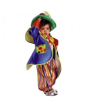 CLOWN 96106 costume baby clown fiorello 6 mesi