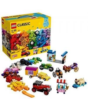 LEGO 10715 lego classic mattoncini su ruote