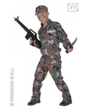 Costume Soldato 5/7 Cm 128 Fibre Ottiche