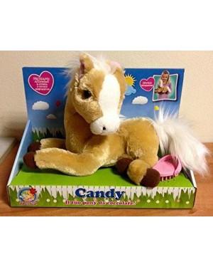 giocheria rdf51120 dolce pony candy nitrisce peluche con funzioni
