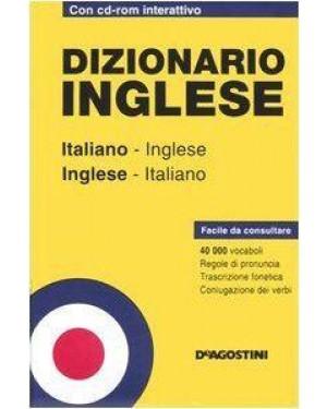 DE AGOSTINI  dizionario inglese italiano con cd tascabile
