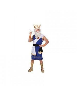 WIDMANN 73612 costume zeus m tunica,cintura,fascia,braccial