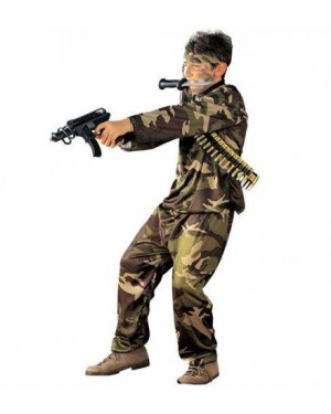 Costume Special Force 8/10 140Cm