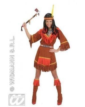 WIDMANN 71811 costume indiana s vestito-grembiule coprist
