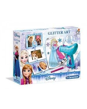 CLEMENTONI 15184.0 frozen - snow glitter art (int)