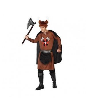 Costume Vichingo Marrone T3