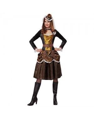 WIDMANN 07752 costume steampunk donna m gonna corta