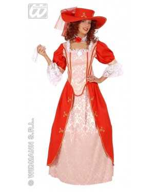 Costume Donna Corte Reale Francese M