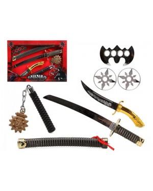 ATOSA 51848 atosa armi ninja +mazza chiodata