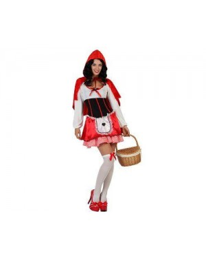 Costume  Cappuccetto Rosso, Adulto T1 Xs\S