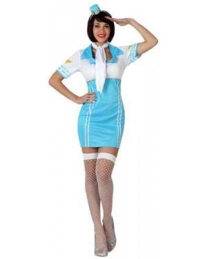 Costume Hostess Aereo, Adulto T. 2