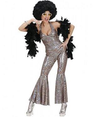Costume Dancing Queen L 70S Tuta Olografica