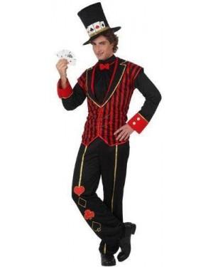 Costume L Carta Da Poker Mago