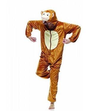 RUBIES IT30551-ST costume scimmia t.u. c/cappuccio