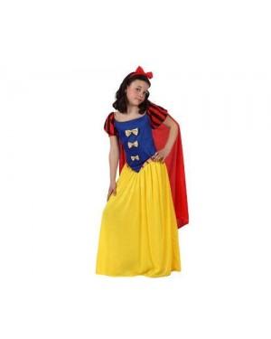 Costume  Principessa Delle Nevi, T4 10-12 Anni