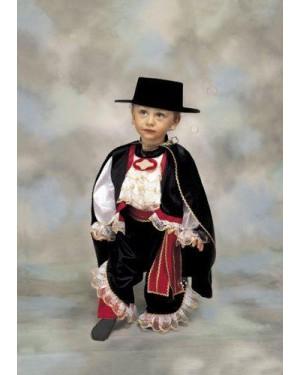 Costume Zorro 1/2 Cavaliere Nero