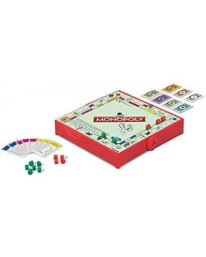 HASBRO B1002103 hasbro gioco da tavolo travel monopoly
