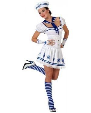 Costume Marinaia Bianco T-1