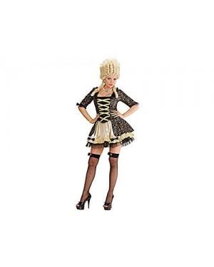 Costume Regina Barocca Nera M