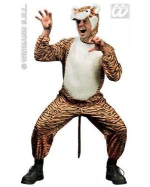 Costume Tigre Uomo Flanella S