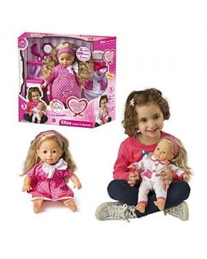 GRANDI GIOCHI GG71008 amore mio bambola canta e racconta 100 frasi