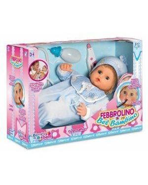 migliorati b025 bambola mammamore febbrolino bel bambino rosa