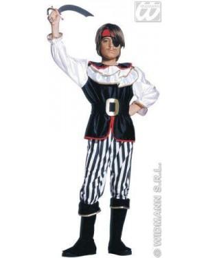 Costume Pirata 128 Cm Casacca Con Jabot,Pan