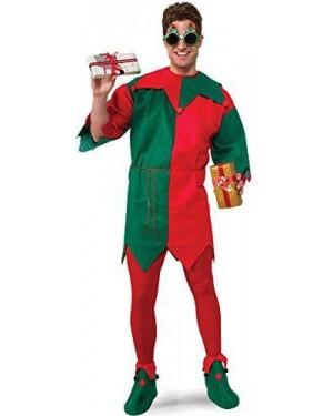 RUBIES 26016 costume elfo giullare unisex m tg unica